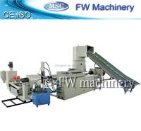 pe plastic pellet making machine/pp/pe film water-ring pelleting line