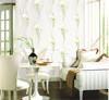 2015 new white flower design wallpaper bonny & decorative for home decoration 3d wallpapers wall paints wallpaper