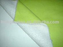 polar fleece fabric bonded coral fleece fabric