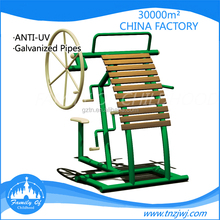 Factory direct supply outdoor wooden fitness equipment for sale