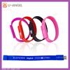 wrist usb flash drive bracelet usb pen drive PVC wrist strap USB flash drive
