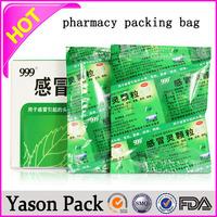 Yason waterproof paper medicine label white medicine zip bags for pills waterproof medicine label