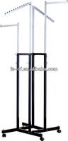 HJ-37 chrome store metal Clothes Display Stand
