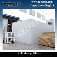 Cold storage 20ton for ice for potato for onion