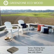 Modern Europe type, installation convenient, waterproof, prevent slippery outdoor wpc decking plastic wood plank flooring