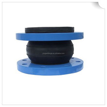 Corrosion resistance flanged rubber expansion joint