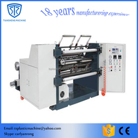 OPP/PP/POF/PE film roll slitting and rewinding machine
