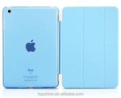 Hot for Mini iPad Smart Cover, Stand leather case for ipad mini 3
