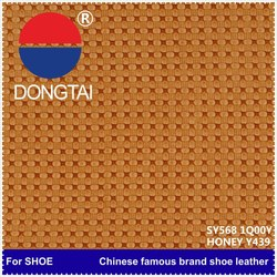 New design leather manufacturer in china for Synthetic leather