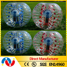 Popular Funny Bubble Soccer/inflatable toy/inflatable bumper ball