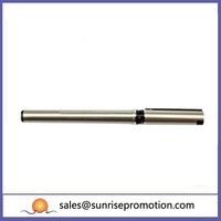 Black Clip And Soft Feel Grip Gift Metal Pen
