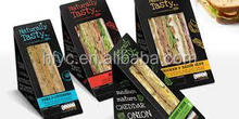 Sandwish boxes healthy snacks box packaging