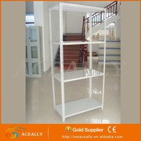 Logistics and the Supermarket With Angle steel shelves