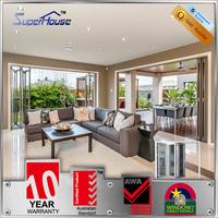 Australian standard AS/NZS2047 AS/NZS2208 & AS/NZS1288 interior doors thermal break aluminium folding door