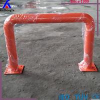 Warehouse heavy duty pallet rack upright/post barriers