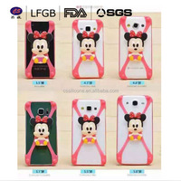 2015 Hot sale low price Ultra Thin mobile Case cute 3d silicone phone case 3D phone case for lenovo