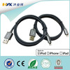 MFI certified for iphone 5s,6,6 plug 8pin fabric braided charger usb cable
