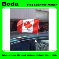 Top quality flag and banner printing union jack custom car window flag