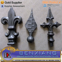 Fence Finials Wrought Iron for Fence