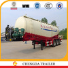 weichai engine mounted cement silo trailer cement tank silo semi trailer special usage powder transport trailer