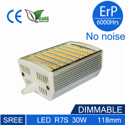 t3 r7s 118mm led r7s led 118mm dimmable 30w sree lampada 30w led r7s