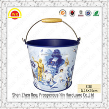 Wholesale decorative baby bucket small metal halloween bucket