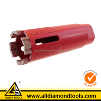 Side Protect Diamond Hard Rock Drilling Bits for Dry Coring