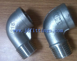 Stainless Steel Forged Pipe Fitting Elbow