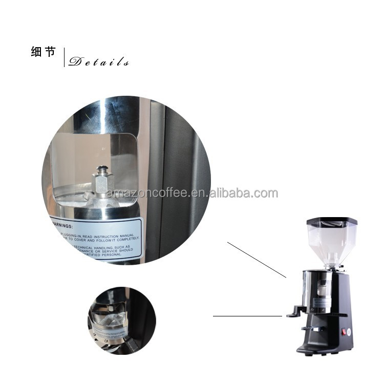 coffee machine with grinder commercial