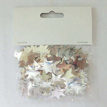 Theme Party Paper Confetti/White Star Confetti for Wedding Opening /Holiday Party Decoration