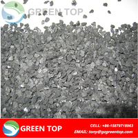High iodine coal granular activated carbon for solvent recovering