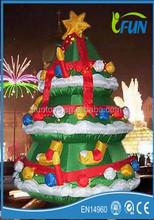 cheap and nice christmas tree decoration/palm tree christmas decorations/inflatable chirstmas tree