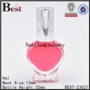 9ml china supplier cosmetic heart shaped perfume bottle