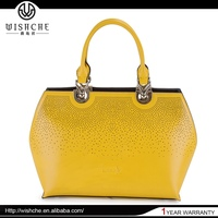 Wishche Best Selling Super Quality Nice Design 2014 Late Design Bag Woman Handbag Wholesale Manufacturer W025