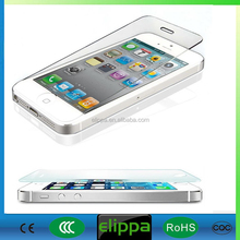 Wholesale mobile accessories 9H privacy tempered glass screen protector for iphone 4/5/6/plus