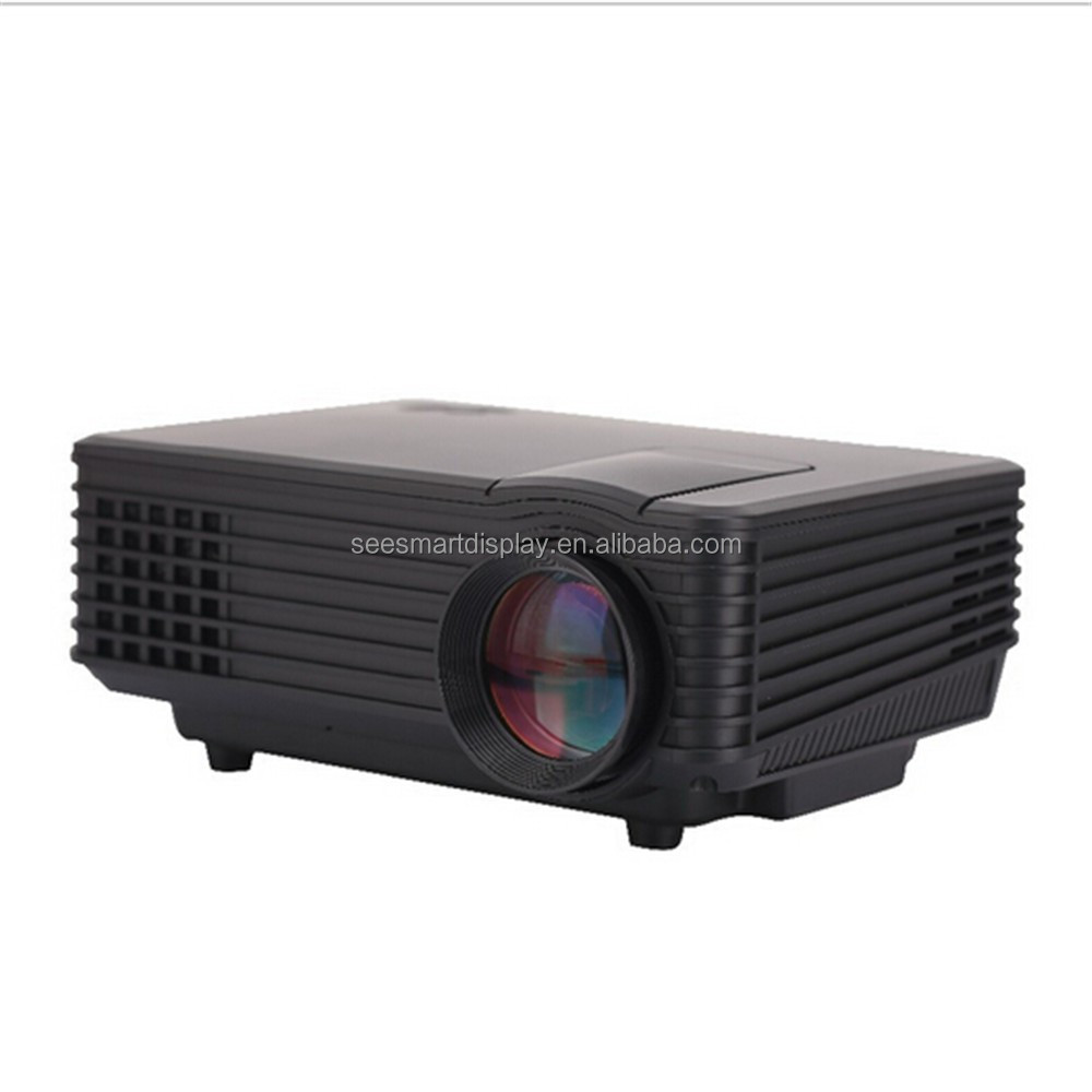 Rd805 pocket led projector 800 lumens high quality for Highest lumen pocket projector