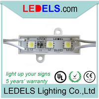 0.48watt 12v waterproof led strip modules for outdoor channel letter signage lighting ul listed