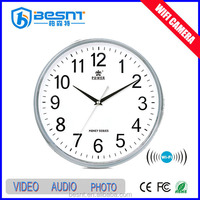 China hot sale wall clock wifi hidden camera for Sale BS-734