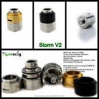 The most popular e cigarette rebuildable drip atomizer Storm V2 RDA Ego Ce4