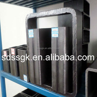 Q235 GB/T19001-2008 weight hollow section rectangular iron steel tube