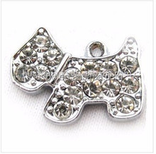 Wholesale alloy lovely dog pendant for necklace