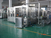 Automatic plastic bottle pure water filling/packing machine