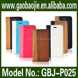 Fresh case luxury elegant PU leather case manufacturer sale wallet case for iphone 6