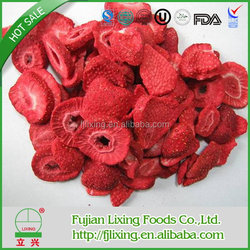 Health food ,Certified,Excellent quality hot sell freeze dried strawberry