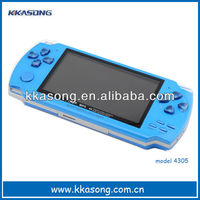 "4.3""mp5 game player support TV-OUT"