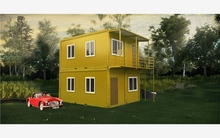 Cost efficient new modern prefab all star container house