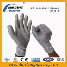 Nitrile dots anti slip cut resistant gloves