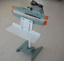 thermal sealing machine for plastic film 2015 good sealer impulse foot sealer easy to use 450MM