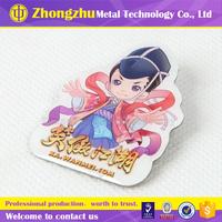 japanese metal cartoon souvenir badge decorative design pin colorful animation style emblem
