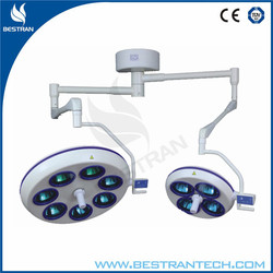 China BT-2001-7+4 hole type shadowless operating lamp medical surgical dental lamp price